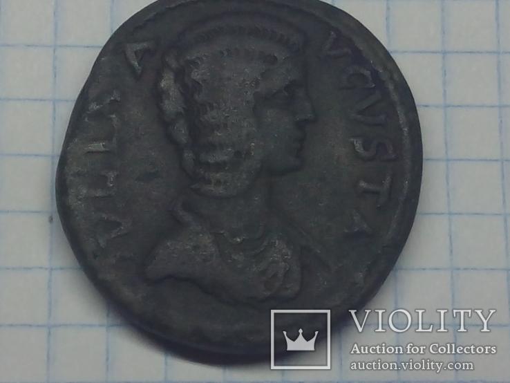 Юлия Домна Провинциальная бронза АЕ32 Антиохия Писидийская