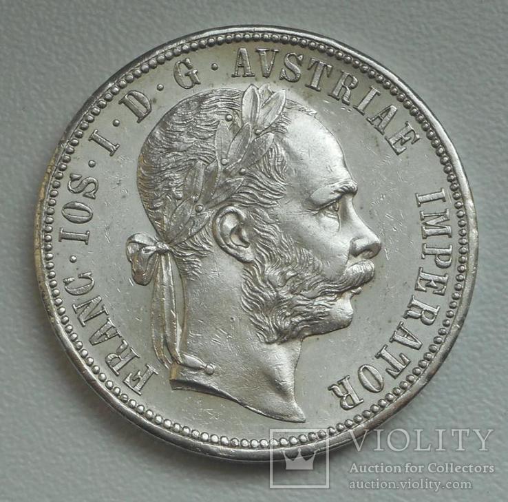 1 флорин 1878 г. Австро-Венгрия