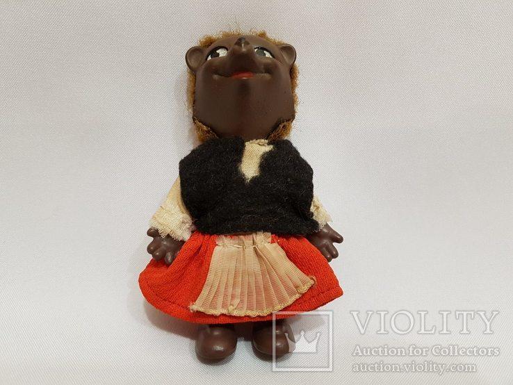 Кукла медведица ГДР , Германия 12 см
