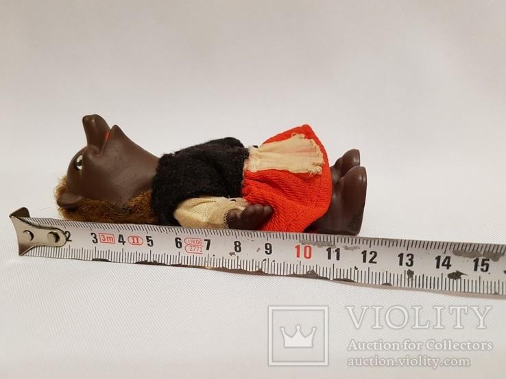 Кукла медведица ГДР , Германия 12 см, фото №6