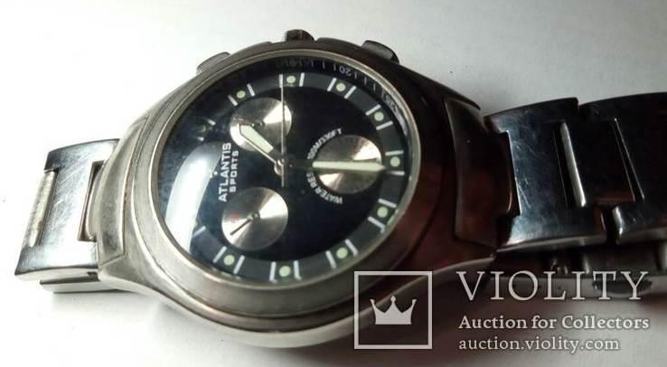 Часы ATLANTIS-SPORTS water resistant 100M/330FT, фото №4