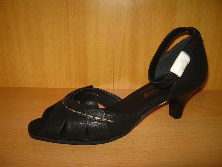 Кожаные туфли женские Comma р.39 новые германия., фото №3