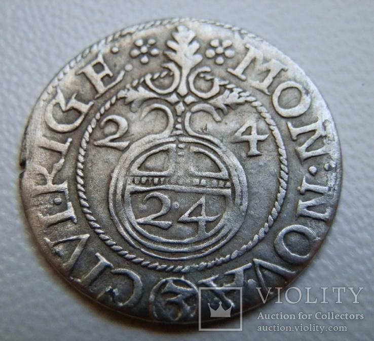 Півторак 1624 р, Рига, Густав Адольф