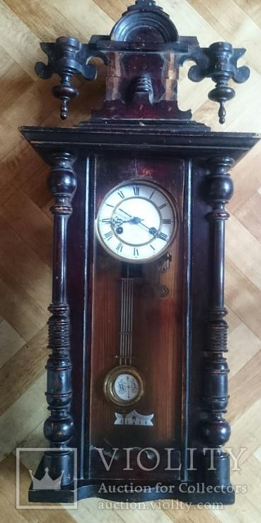 Старинные часы. 80 см.