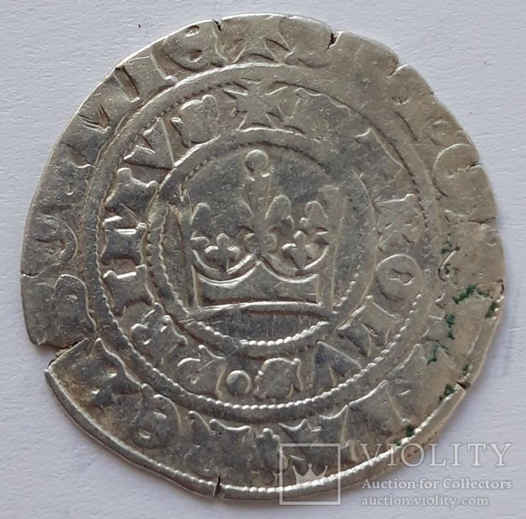 Пражский грош Карл I