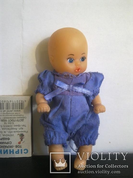 """Кукла коллекционная """"Пупс - младенец"""" (ГДР) клейменая советского периода, фото №10"""