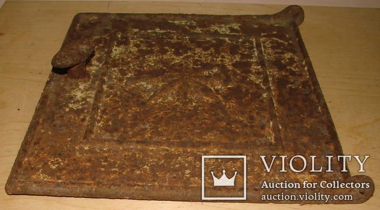 Литьё печное, фрагмент, нач. ХХ ст., фото №3