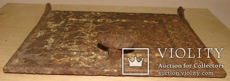 Литьё печное, фрагмент, нач. ХХ ст., фото №5