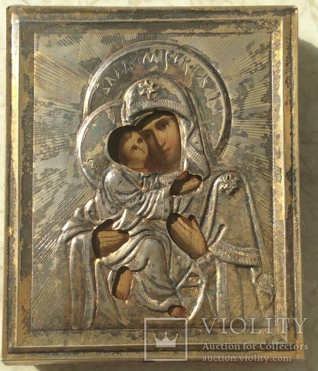 Владимирская Богородица 84,позолота