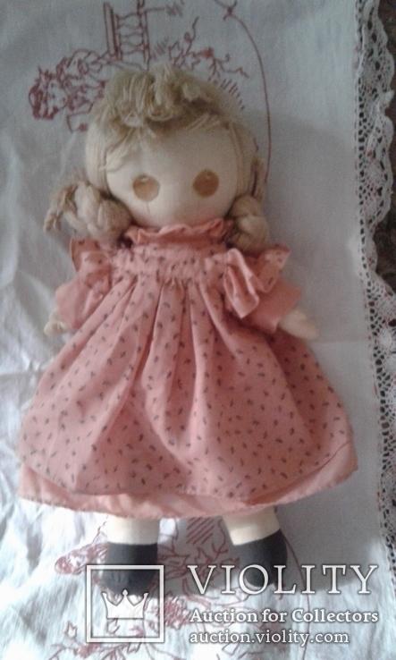 Кукла тряпичная родом из Англии