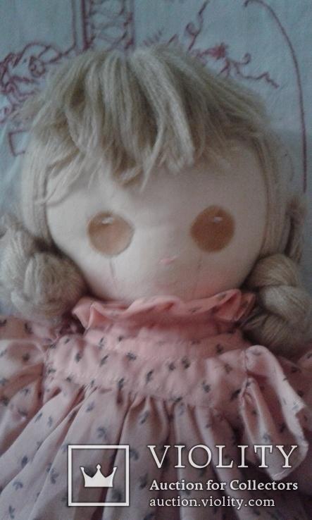 Кукла тряпичная родом из Англии, фото №3