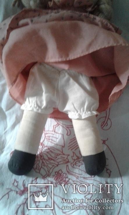 Кукла тряпичная родом из Англии, фото №5