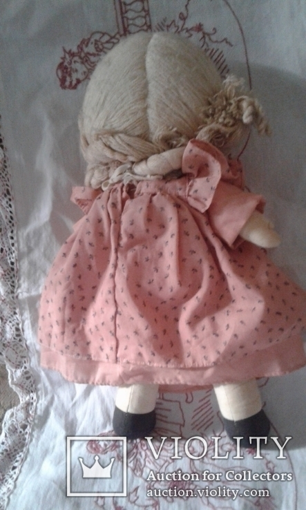 Кукла тряпичная родом из Англии, фото №6