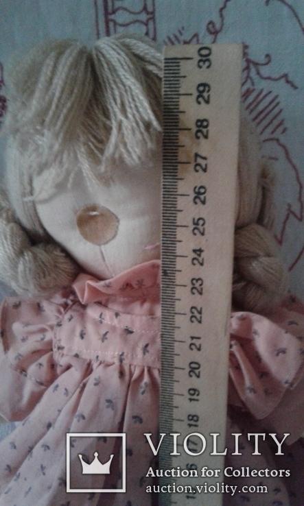 Кукла тряпичная родом из Англии, фото №7