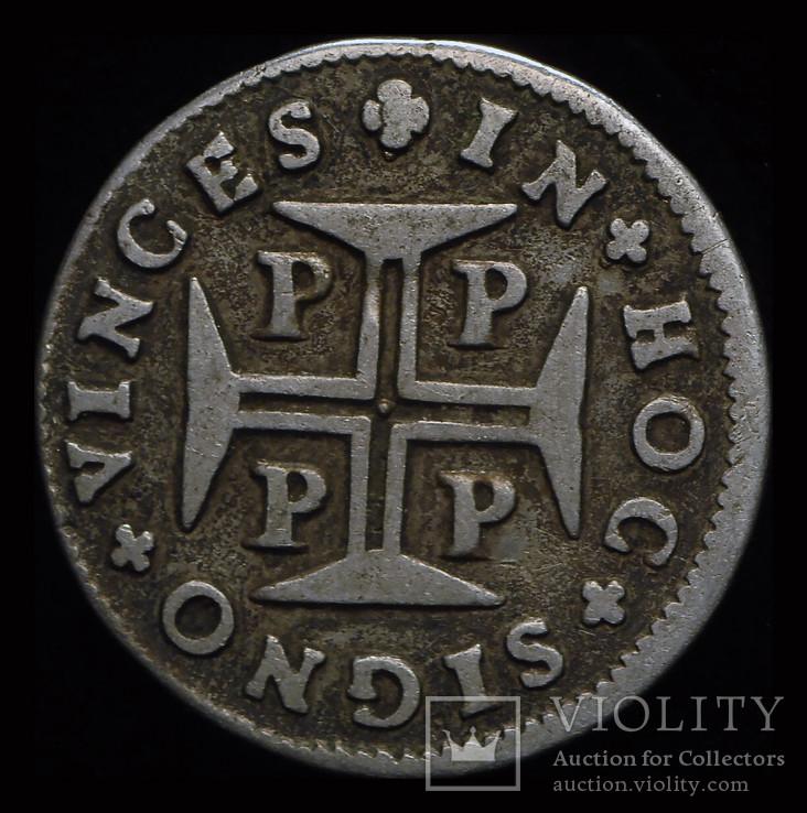 Португалия 60 рейс 1683  серебро