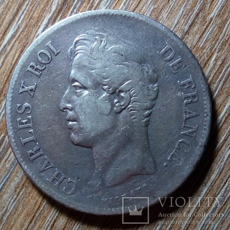 Франция 5 франков 1829 г., фото №3