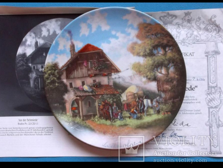 Коллекционная тарелка. Всемирный каталог Bradex.