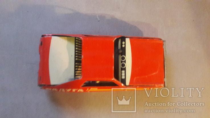 Игрушка ссср машинка автомобиль Радуга инерционная не работает, фото №3