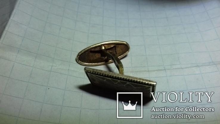 Запонка с масонской символикой, фото №7