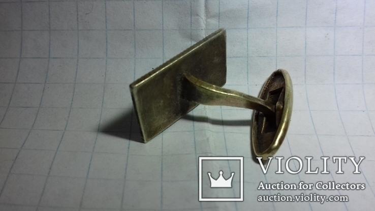Запонка с масонской символикой, фото №8