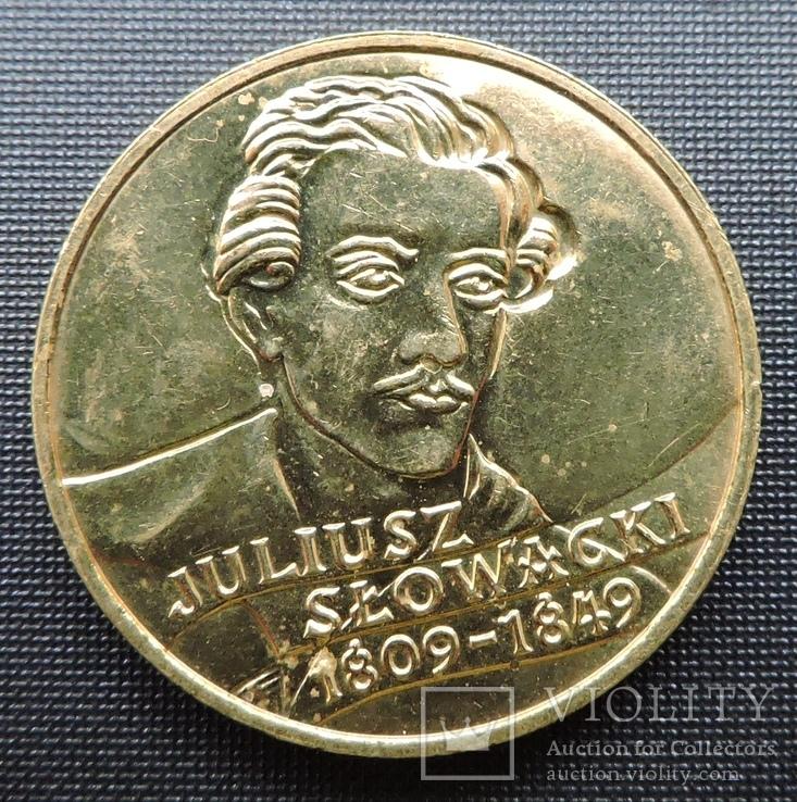 2 злотих 1999 Юліуш Словацький