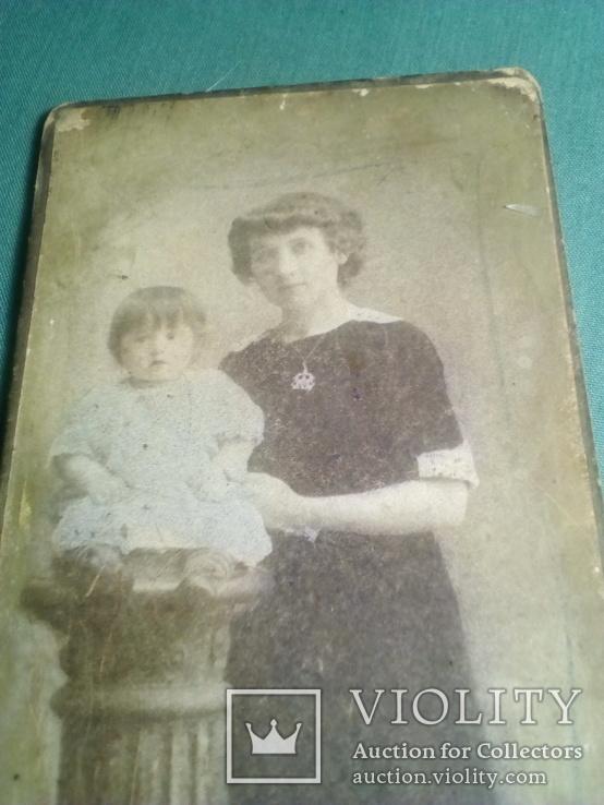 Фото царских времен Женщины с ребенком. Салон Бр. Клейманъ, фото №10