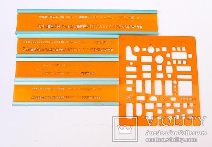 Немецкие линейки Standardgraph и Architekt, фото №3