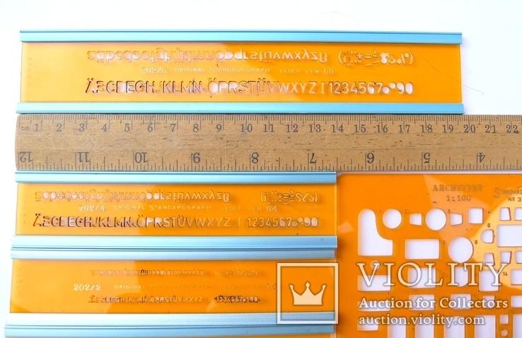 Немецкие линейки Standardgraph и Architekt, фото №10