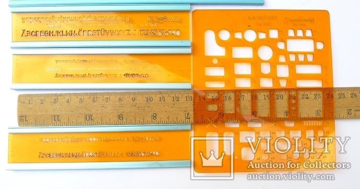 Немецкие линейки Standardgraph и Architekt, фото №11