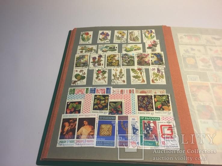Альбом с марками и конверты