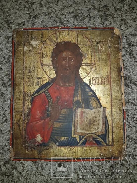 Икона Господь Вседержитель 31.5*27 см, фото №2
