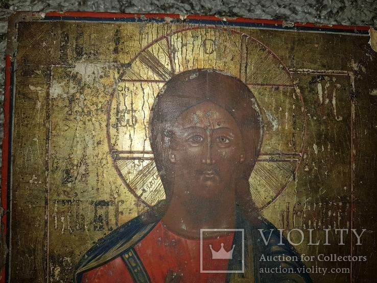Икона Господь Вседержитель 31.5*27 см, фото №4