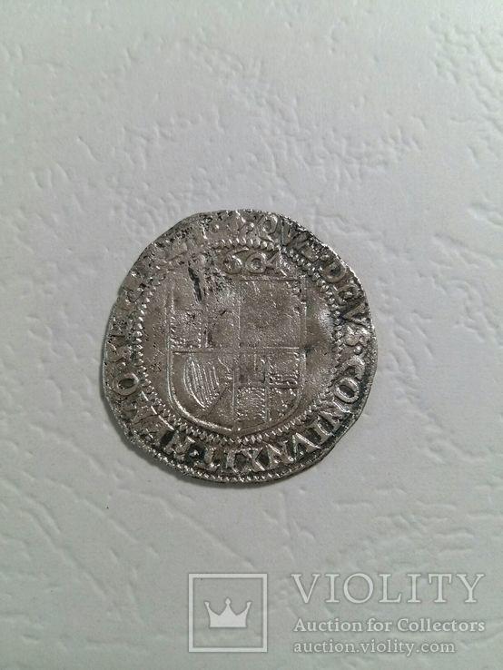 Джеймс І, 6 Пенсів, 1604., фото №4