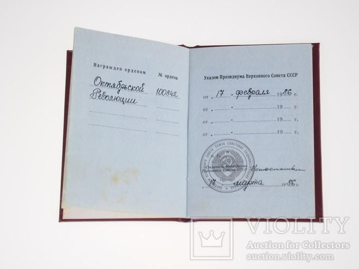 Орден Октябрьской революции (2 штуки), фото №8