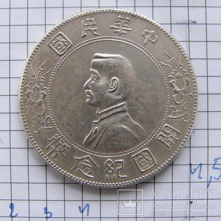 1 юань (доллар) Китай