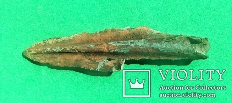 Культура Ноуа 15-13г. до н.э. Предмет внутри кельта., фото №12