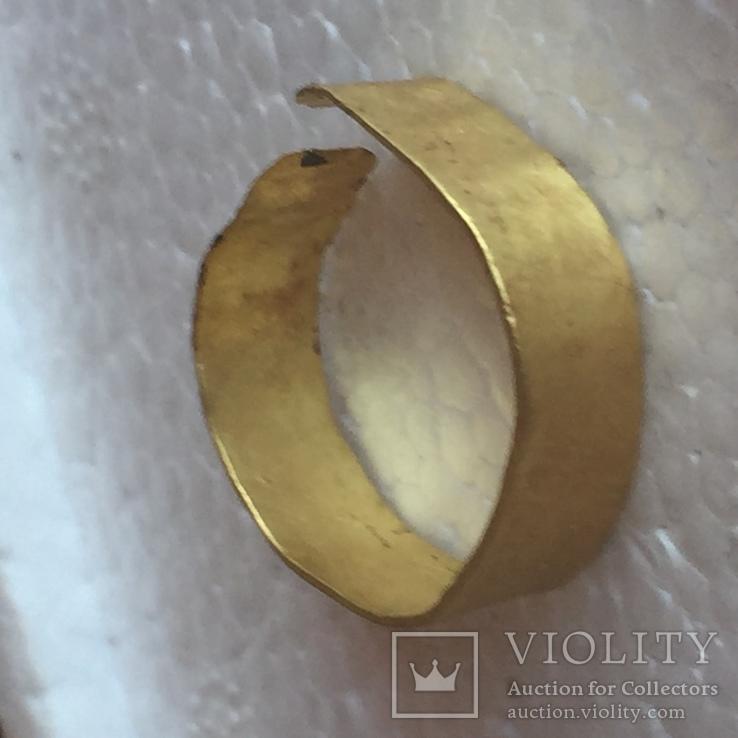 Золота каблучка високої проби 3,45