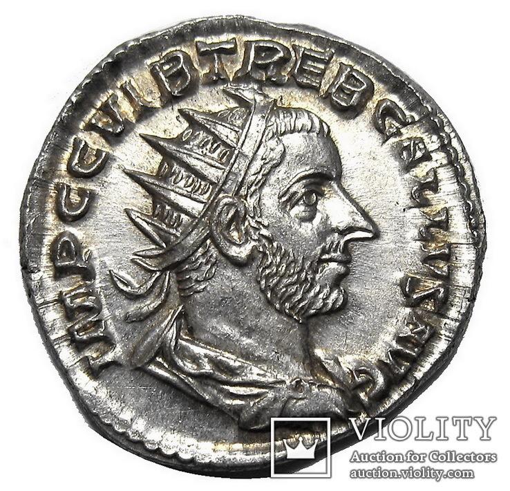 Антониниан Требониан Галл 251-253 г. н.э.