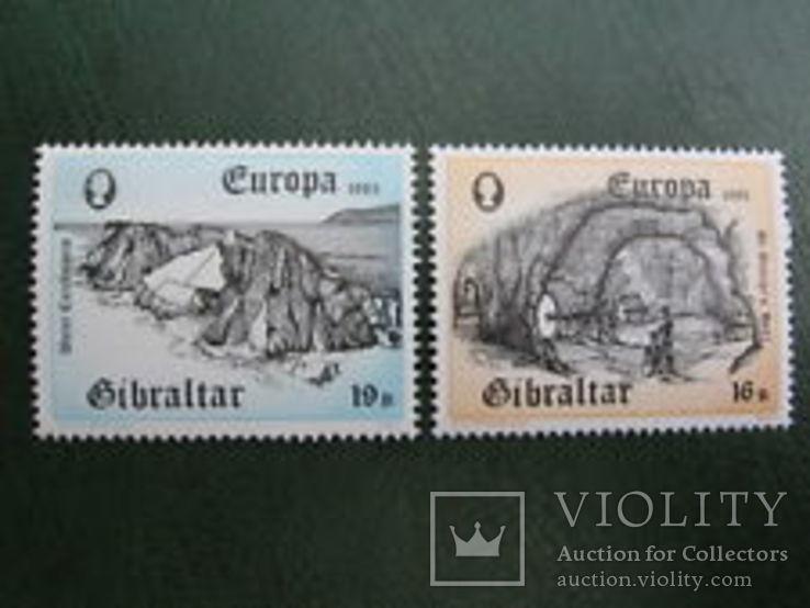 Гибралтар 1983 ЕВРОПА СЕПТ Прогресс и душа