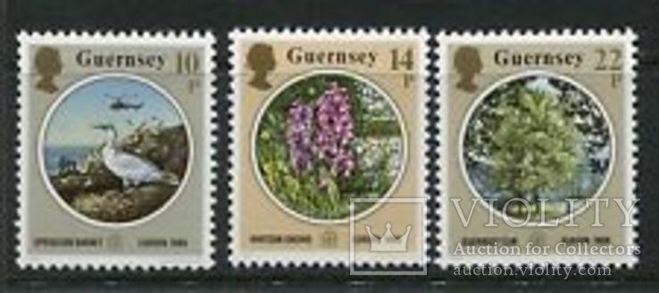 Гернси 1986 ЕВРОПА СЕПТ Охрана окружающей среды