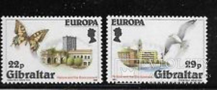 Гибралтар 1986 ЕВРОПА СЕПТ Охрана окружающей среды