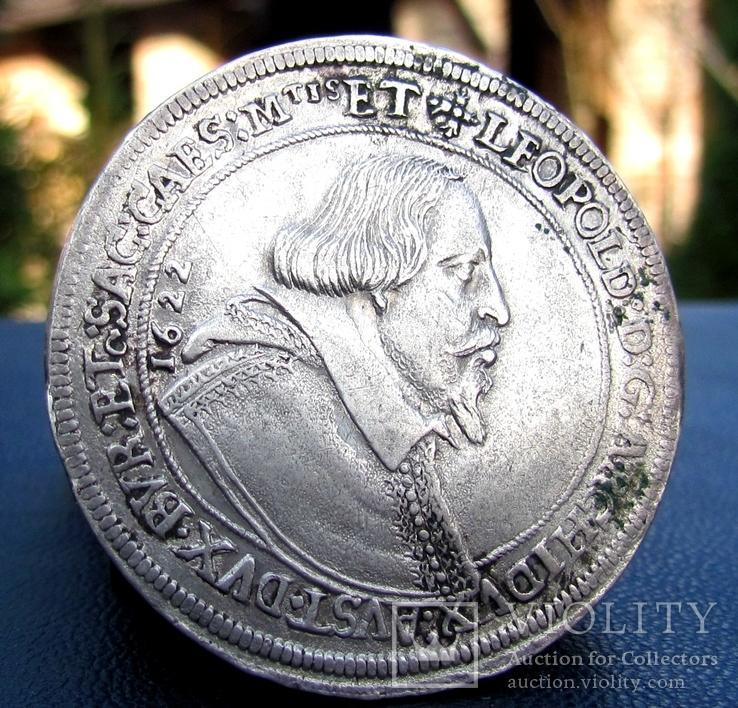 Талер 1622 р. Леопольд Тіроль