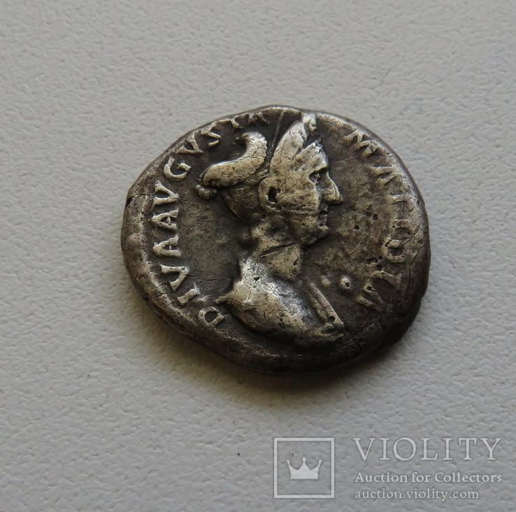 Динарий Матидия 117-119 г. н.э.