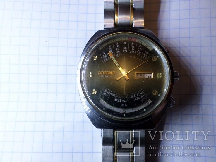 Винтажные часы Orient 21 jewels G 469672-4cpt( оригинал)