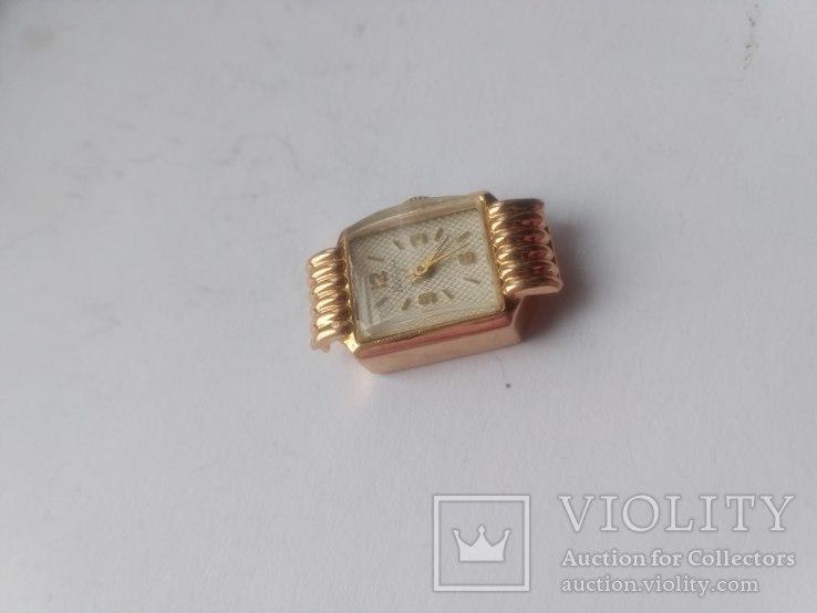 Золотые часы Наири 583 проба СССР 9 грамм, фото №4
