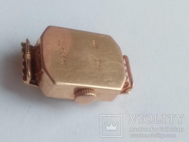 Золотые часы Наири 583 проба СССР 9 грамм, фото №6