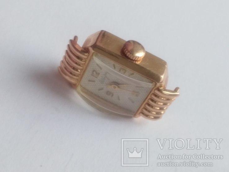 Золотые часы Наири 583 проба СССР 9 грамм, фото №7