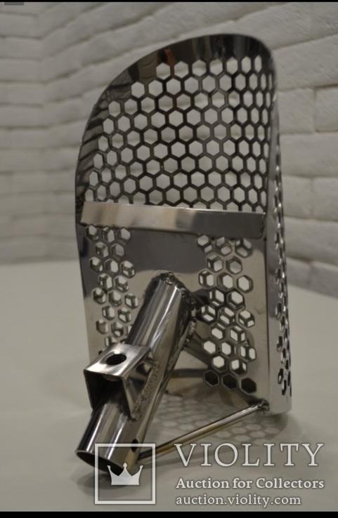 Скуб (скуп) маленький~250*130*92 мм, толщина 2 мм, вес ~800гр, без ручки.