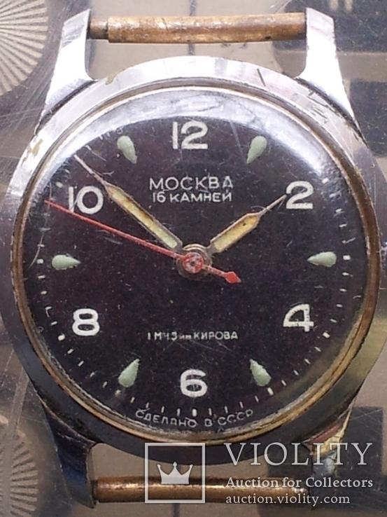 Мужские наручные часы Москва. СССР