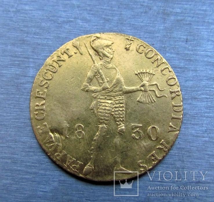Дукат  1830 р. СПБ- монетний двір ( імітація голандського дуката)